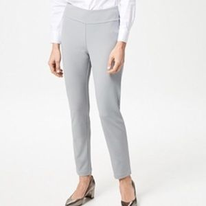 Linea Louis Dell'Olio knit pull-on ankle pant 3X